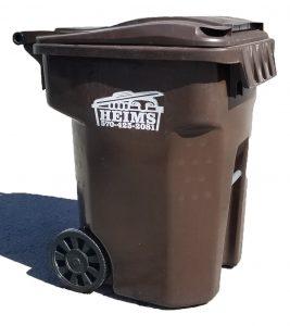 96 Gallon Tipper Cart